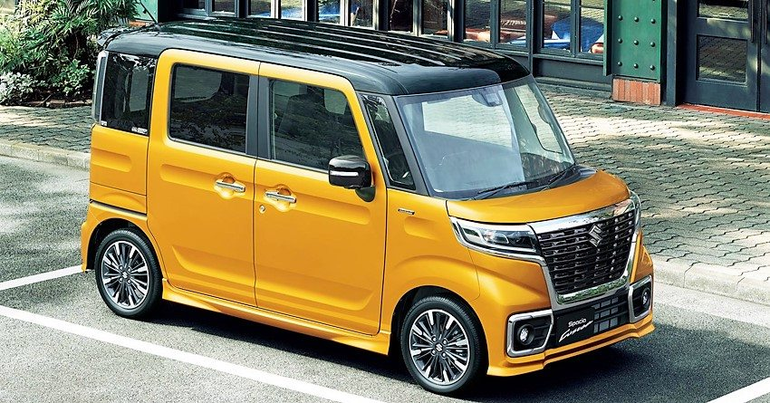 Suzuki Spacia Launched In Japan Jpy 1 274 400 Inr 7 26