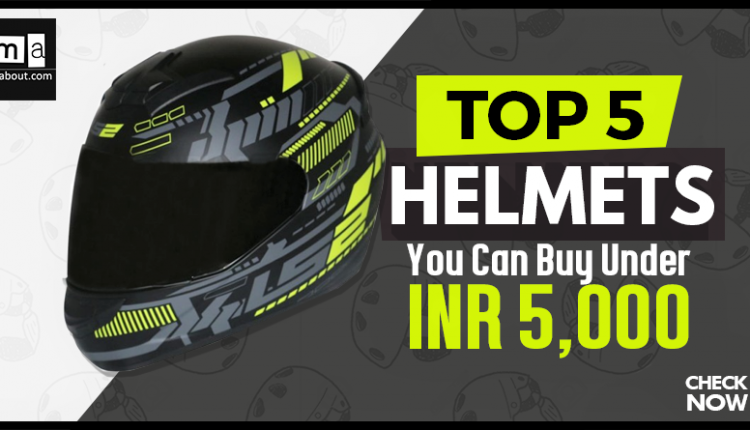 Top 5 Helmets You Can Buy in India Under INR 5000