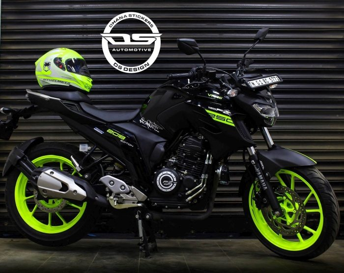 Yamaha FZ25 VR46 Edition by DS Design (Chennai)
