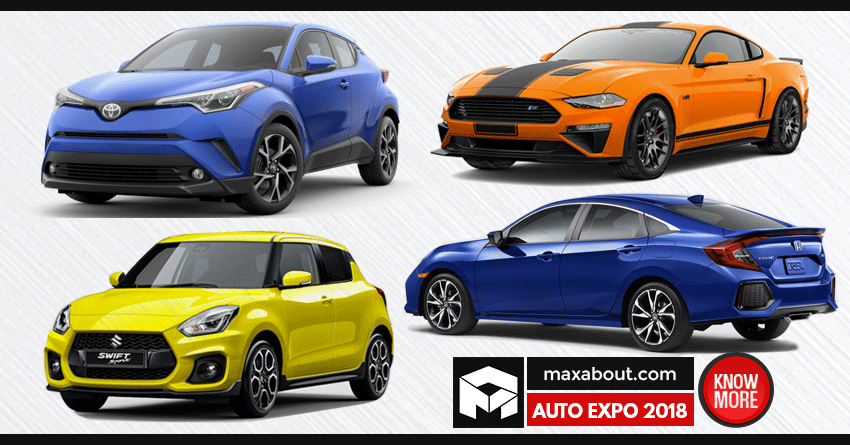 Auto Expo 2018 Cars - Complete List of Upcoming Cars in India