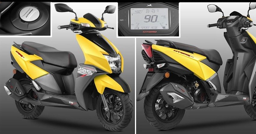 TVS Ntorq 125 Scooter Officially Launched @ INR 58,750
