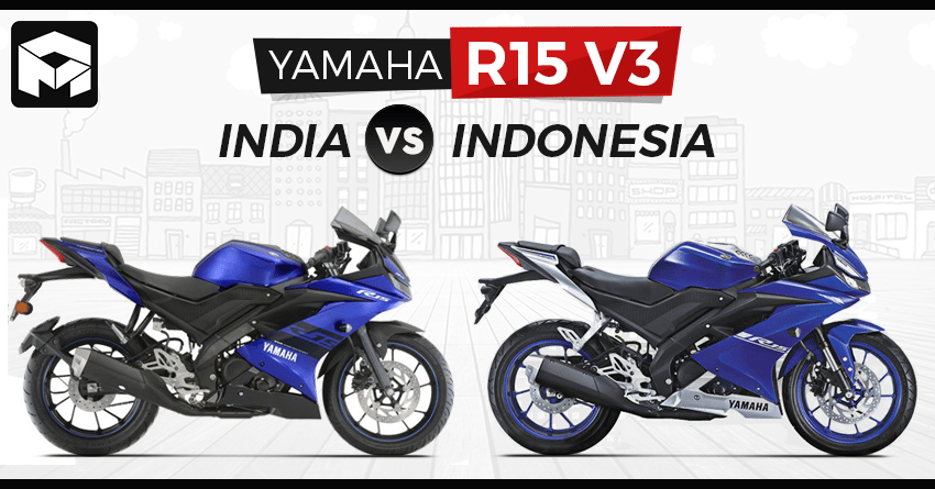 R15 V3 India vs Indonesia