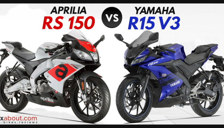 Aprilia RS 150 vs Yamaha R15 V3 (Detailed Comparison)