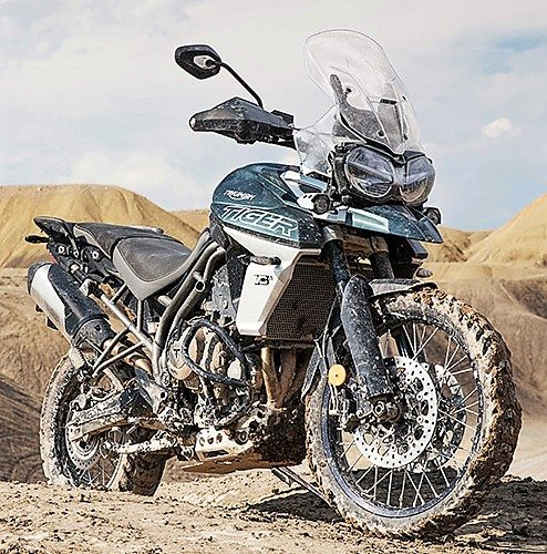 New Triumph Tiger 800
