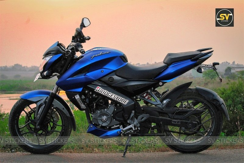 NS200 Metallic Blue