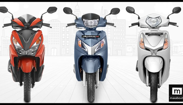 Latest Discount on Popular Scooters in India