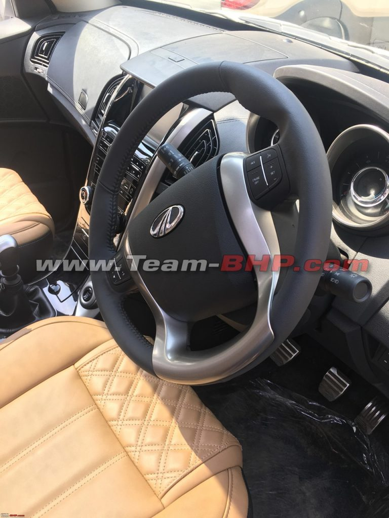 2018 Mahindra Xuv500 Interior Spied Ahead Of Official Launch