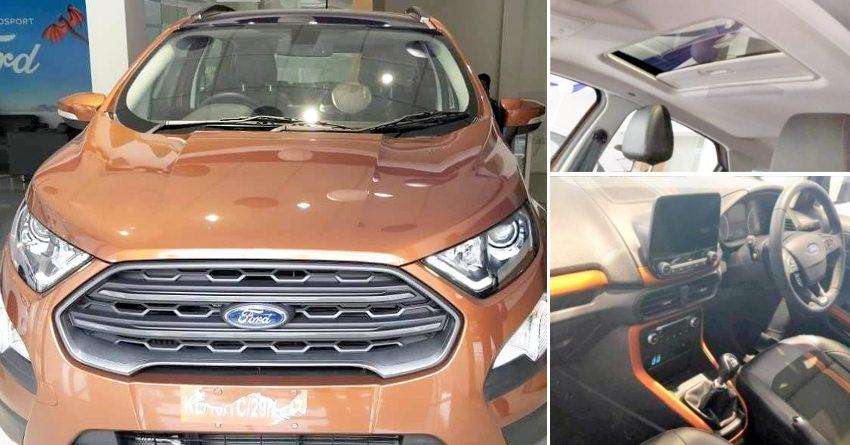 Ford Ecosport Titanium S With Sunroof Launched At Inr 1137 Lakh