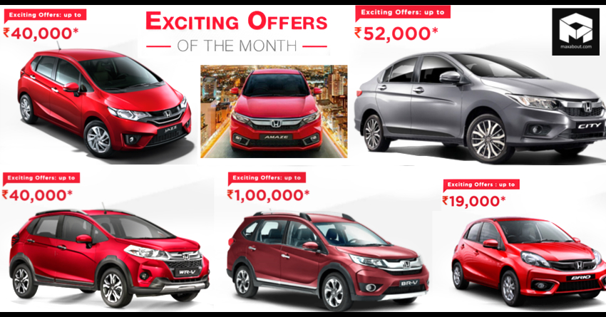 Honda Cars India Offering Discounts Of Up To Inr 1 Lakh