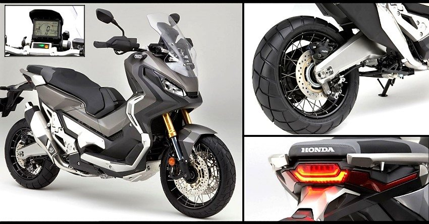Honda Patents 745cc X Adv Adventure Scooter In India