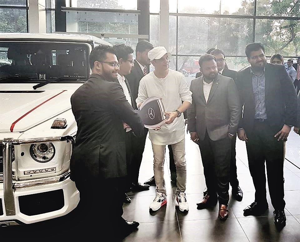 Jimmy Sheirgill Buys A Mercedes-Benz G63 AMG