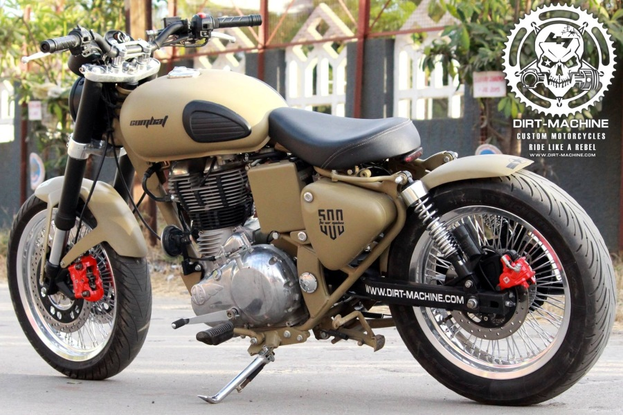 Royal Enfield Classic Combat With Usd Forks Amp Dual Front