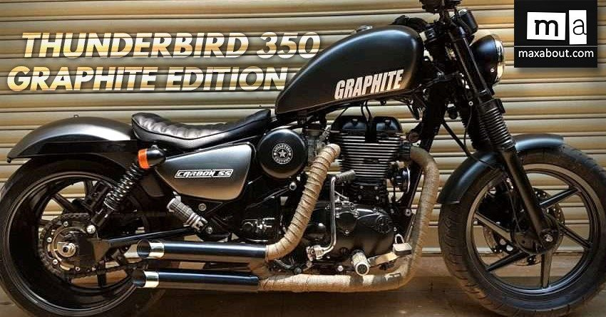 Royal Enfield Thunderbird 350 Graphite Edition by Bulleteer