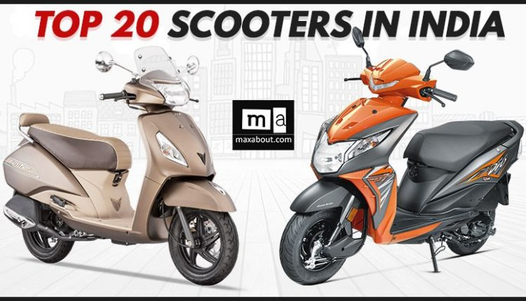 Top 20 Best-Selling Scooters in India (March 2018)