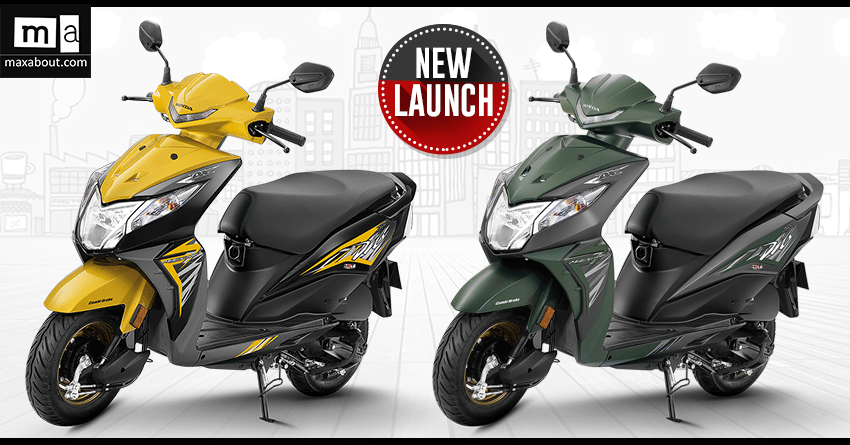 2018 Honda Dio Deluxe Version Launched Inr 53 292