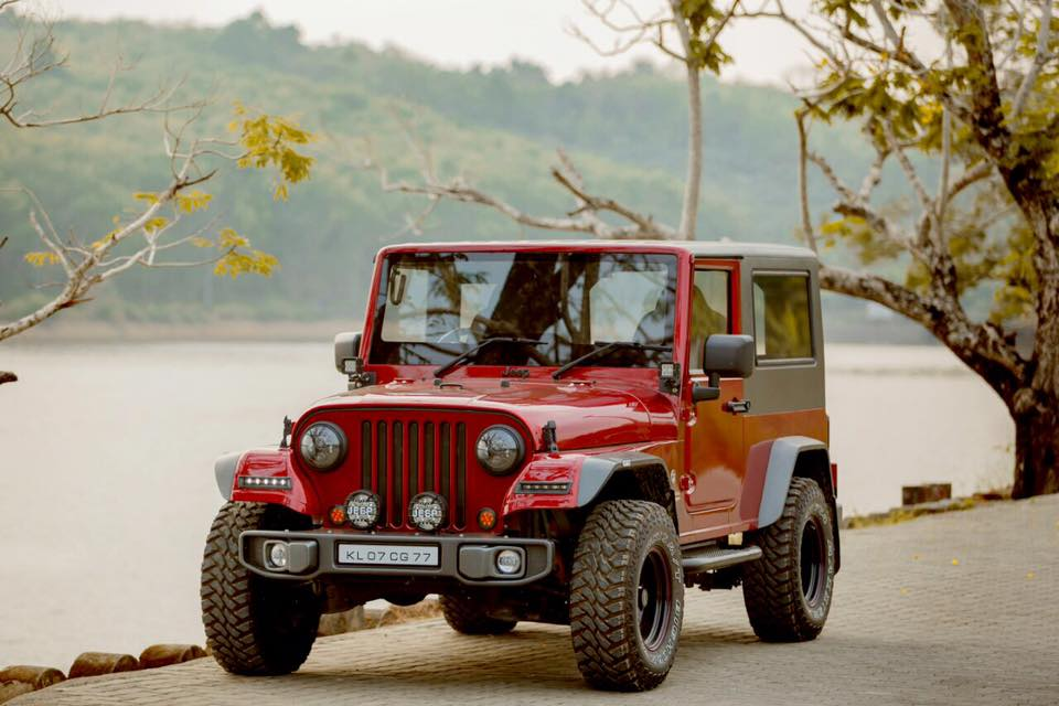 Precisely Modified Mahindra Thar By Redfox Autocare