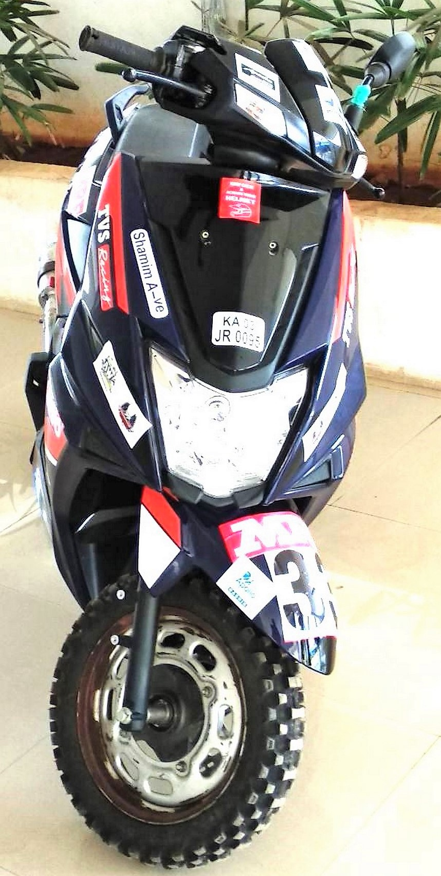 20HP TVS NTORQ SXR Race Version Officially Unveiled