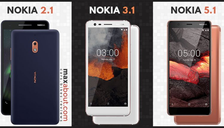 3 New Nokia Smartphones Launched in India