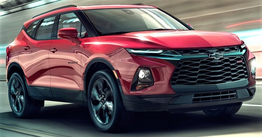 All-New Camaro Inspired 2019 Chevrolet Blazer SUV Officially Unveiled