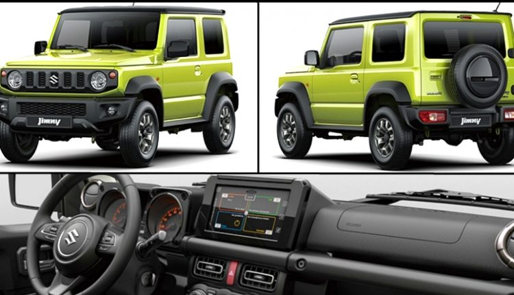 New Suzuki Jimny Officially Unveiled, Will Replace Maruti Gypsy in India