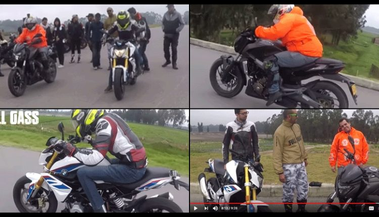 Drag Race Video: BMW G310R Beats Bajaj Dominar 400