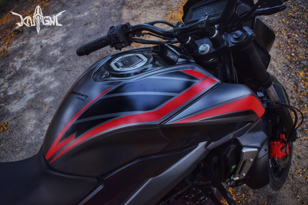Bajaj Dominar Wrap