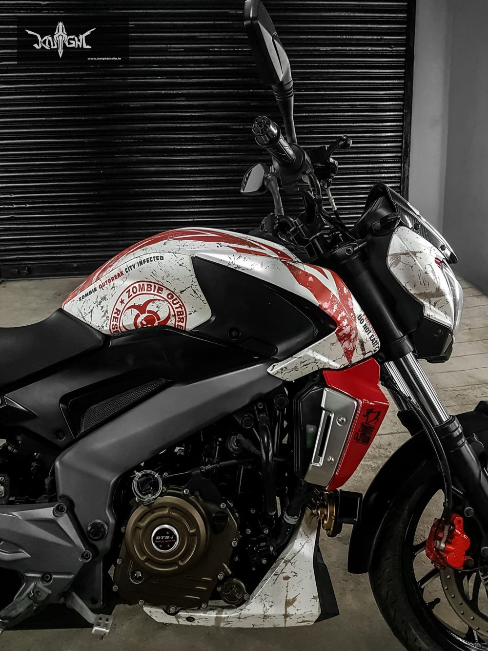 Bajaj Dominar Zombie Edition By Knight Auto Customizer