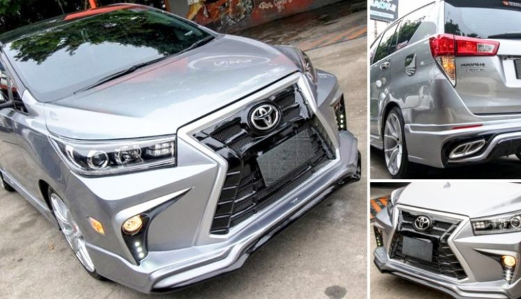 Meet Lexus-Inspired Customized Toyota Innova Crysta