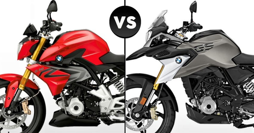 Terrific Detailed Comparison Bmw G310R Vs Bmw G310Gs Gmtry Best Dining Table And Chair Ideas Images Gmtryco