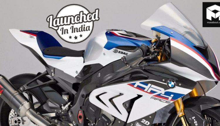 BMW HP4 Race Launched in India @ INR 85 Lakh