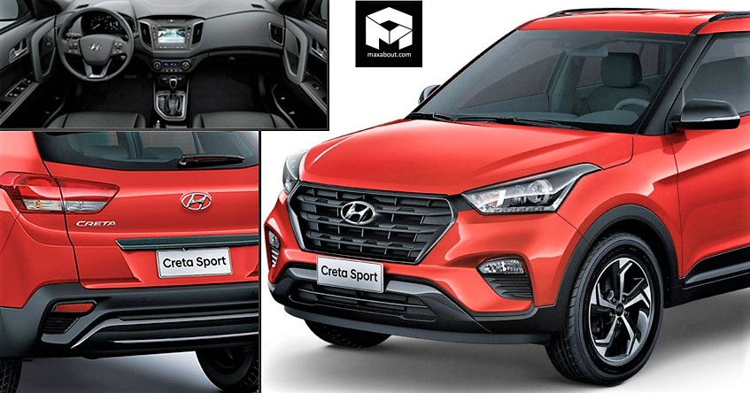 Hyundai Creta Sport India Launch