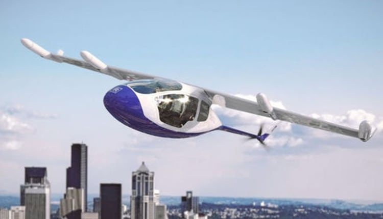 Rolls-Royce Working on a Hybrid Electric Flying Taxi