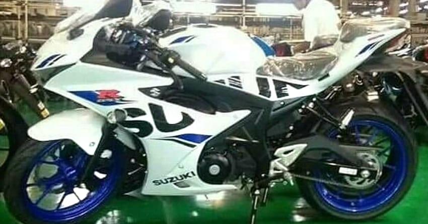 Suzuki Gsx R150 Classic Racing Edition Leaked Ahead Of Official Unveil
