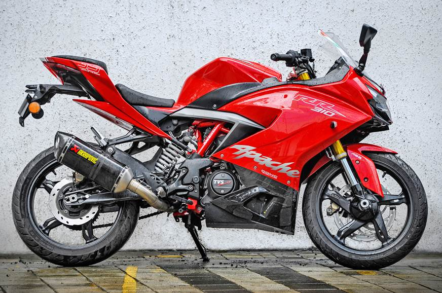 TVS Apache RR310 with Akrapovic Exhaust