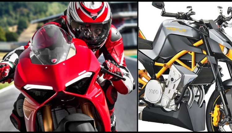 Ducati Might Join Hands with Hero MotoCorp for a 300cc Motorcycle