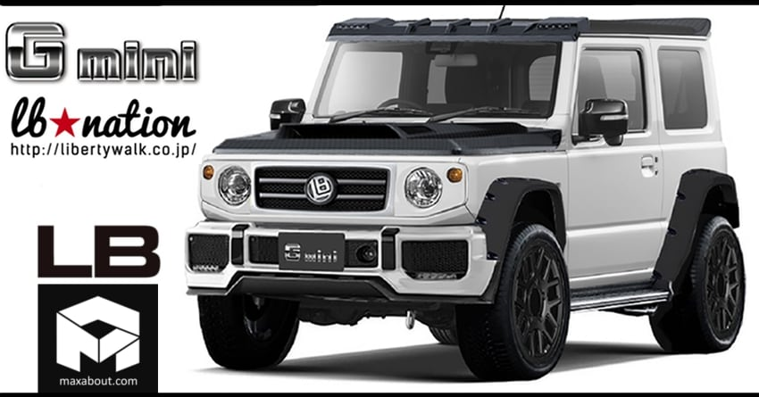 Suzuki Jimny G-Mini Edition Officially Unveiled by Liberty Walk (Japan)