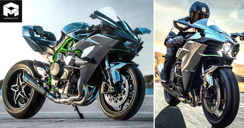 Kawasaki Ninja H2r Vs Ninja H2 Detailed Comparison