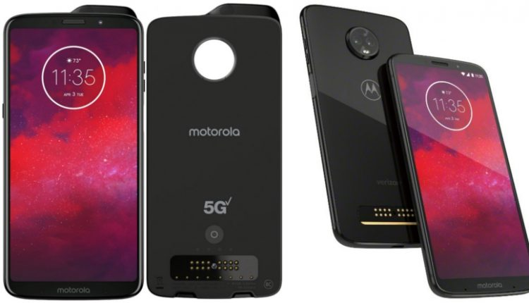 Moto Z3 with 5G Moto Mod Announced for $480 (INR 33,000)