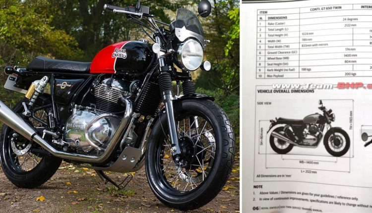 Service Manual of 650cc Royal Enfield Twins Leaked Ahead of Launch