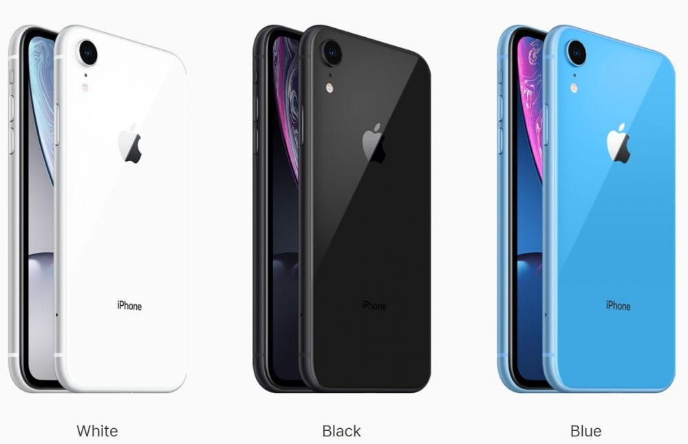 Apple iPhone XR Colors