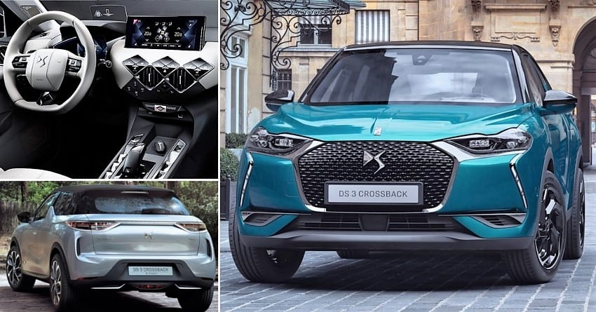 ds automobile officially unveils new ds 3 crossback. Black Bedroom Furniture Sets. Home Design Ideas