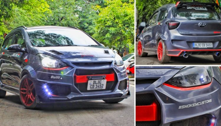 Hyundai Grand i10 Typhoon Edition by Smoke'em Customs (Delhi)