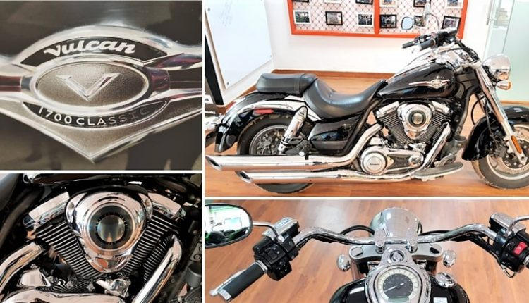 Kawasaki Vulcan 1700 Classic for Sale in Delhi, Bid Starts @ INR 11 Lakh