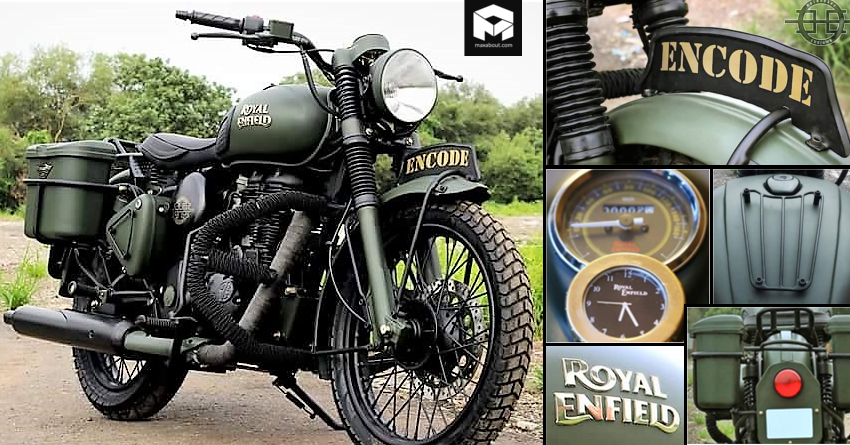 Meet Custom-Made Battle Green Royal Enfield Classic 350