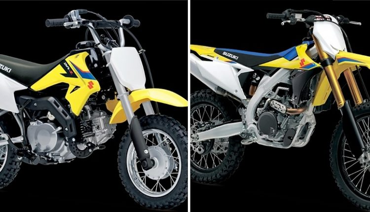 4 New Suzuki Dirt Bikes are Coming to India (Details & Price List)