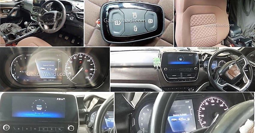 Tata Harrier Interior Leaked