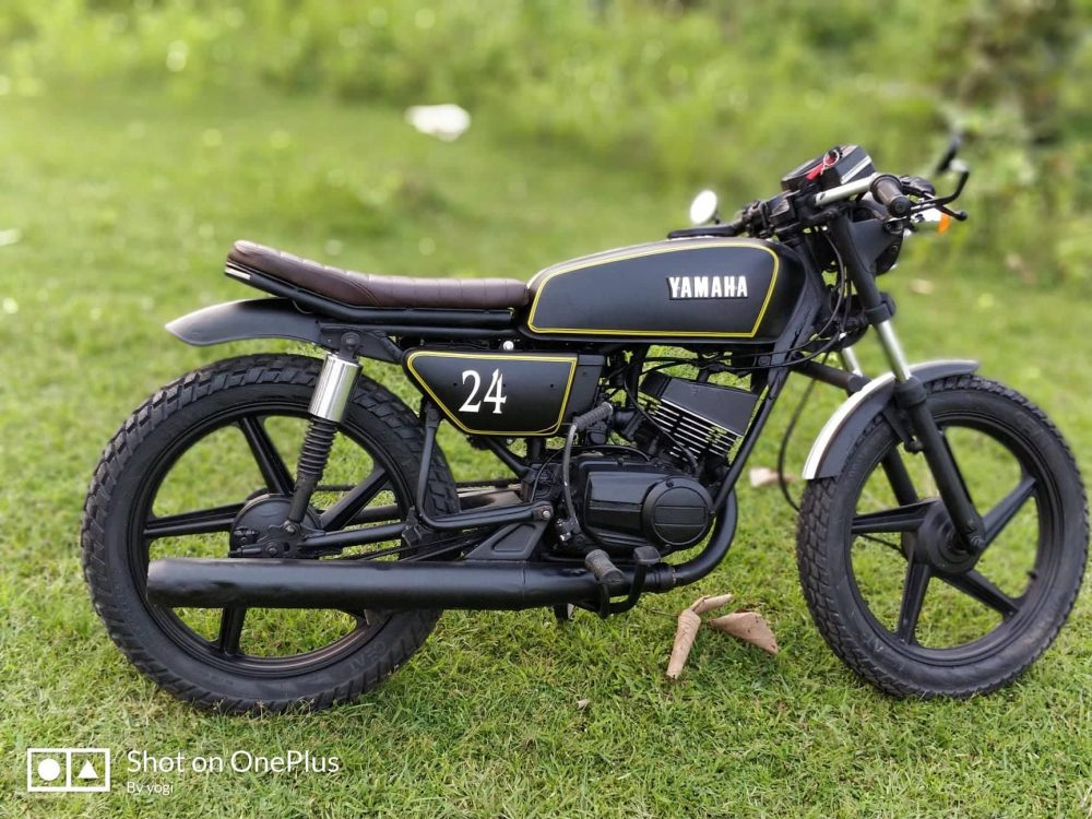top 10 best-ever modified yamaha rx 100 motorcycles in india