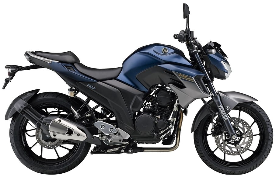 2019 Yamaha FZ25 in Dark Matte Blue