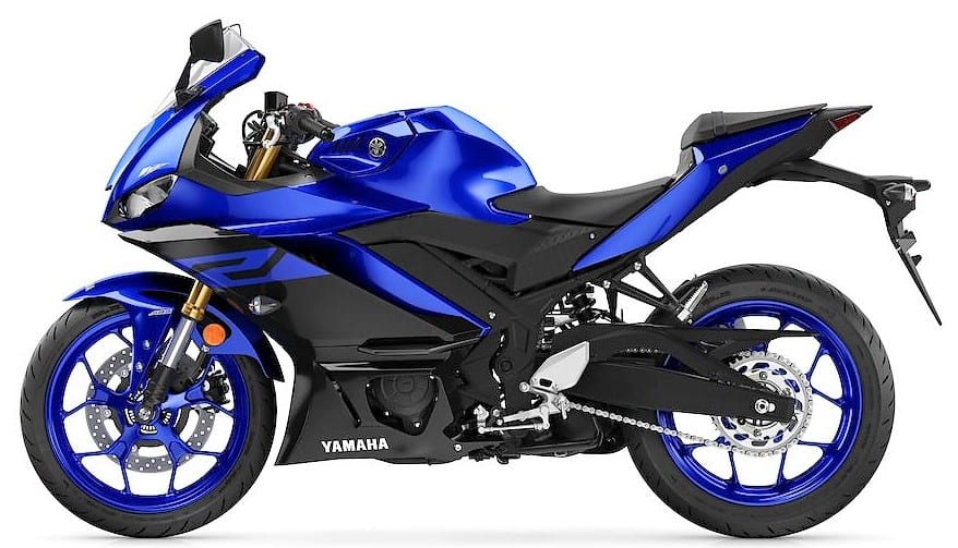 'Team Yamaha Blue' Side View