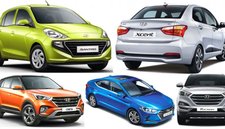 Latest Hyundai Cars Variant-Wise Price List in India